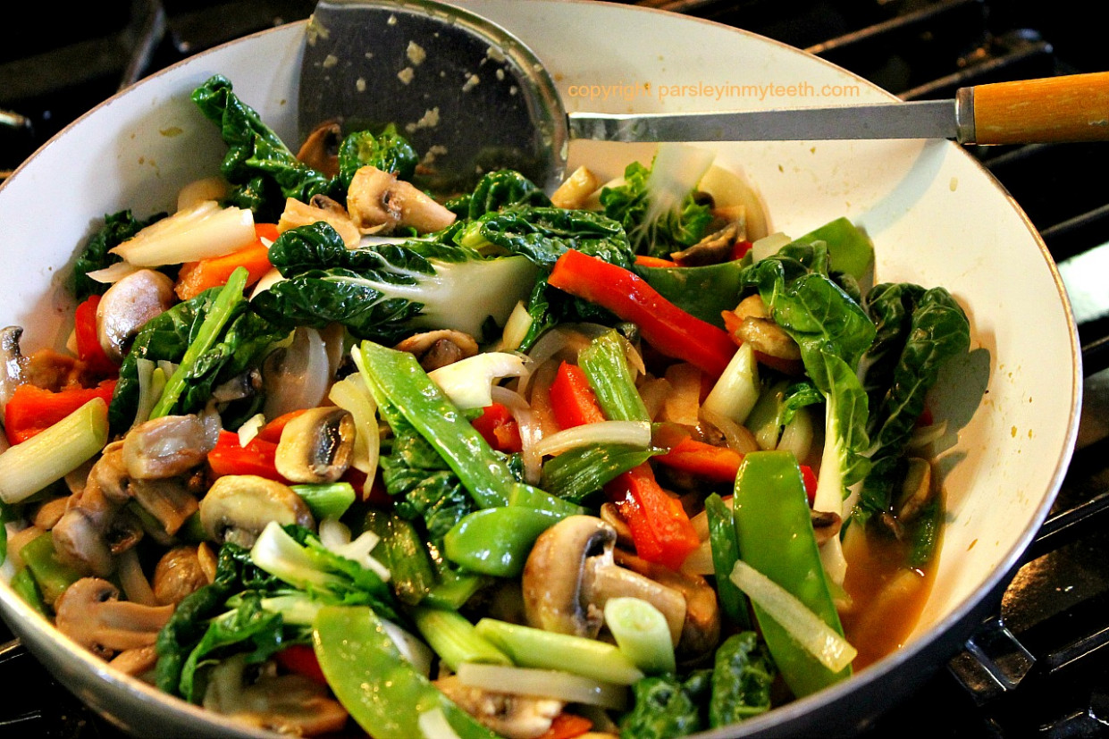 Mushroom Vegetable Stir Fry - recipes vegetarian stir fry