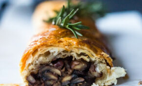 Mushroom Wellington With Rosemary And Pecans | Feasting At Home – Recipe Vegetarian Wellington