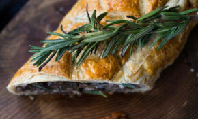 Mushroom Wellington With Rosemary And Pecans | Feasting At Home – Rosemary Recipes Vegetarian