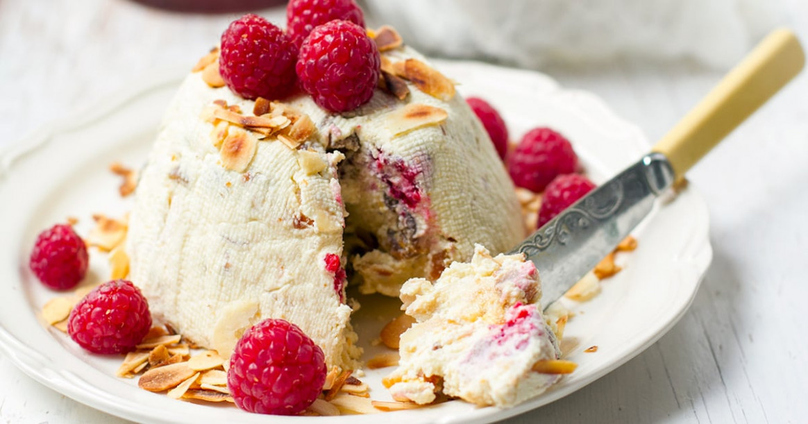 Must Try Easter Pashka with Ricotta & Raspberries - healthy recipes ricotta cheese