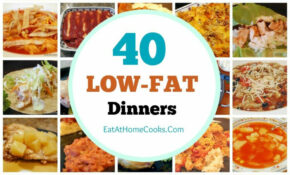 My Big Fat List Of 40 Low Fat Recipes | Food – Healthy ..
