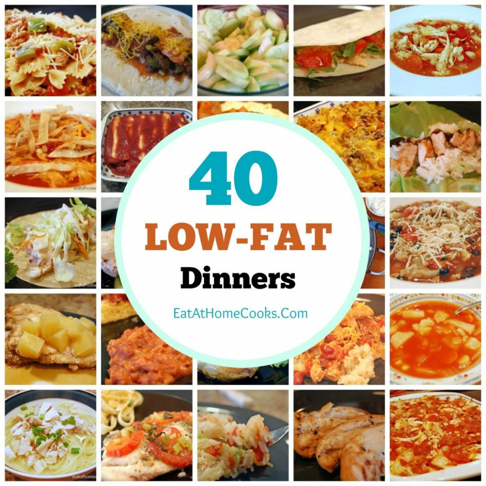 My Big Fat List of 40 Low-Fat Recipes | Food - Healthy ..