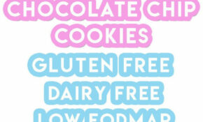My Chewy Gluten Free Choc Chip Cookies Recipe (dairy Free, Low FODMAP) – Recipes Vegetarian Lactose Free