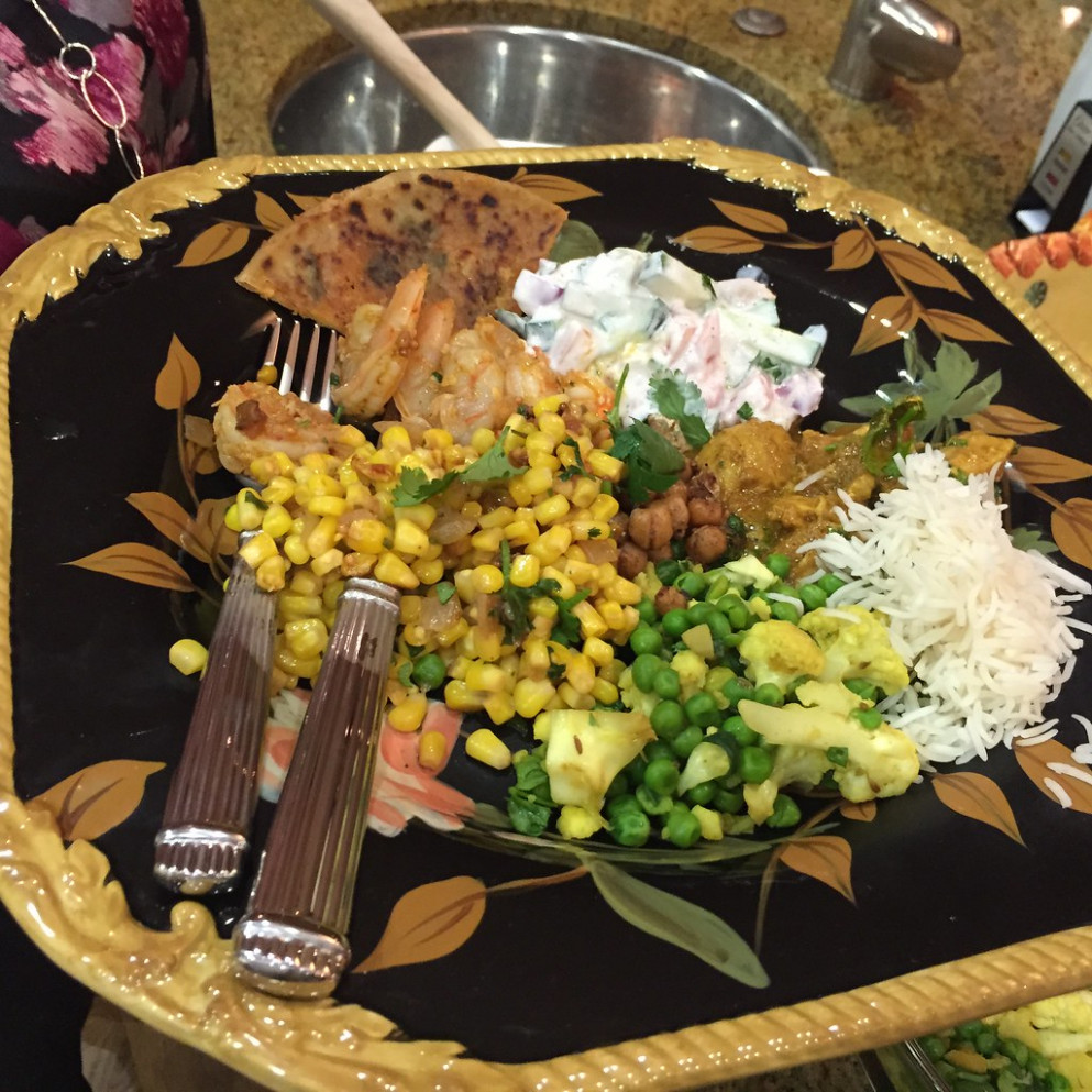My Dinner Plate - recipes indian for dinner