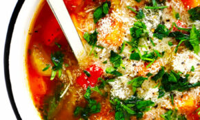 My Favorite Vegetable Soup Recipe   Gimme Some Oven – Instant Pot Soup Recipes Vegetarian