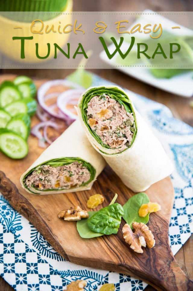 My go-to Tuna Wrap • The Healthy Foodie - recipes with tuna healthy