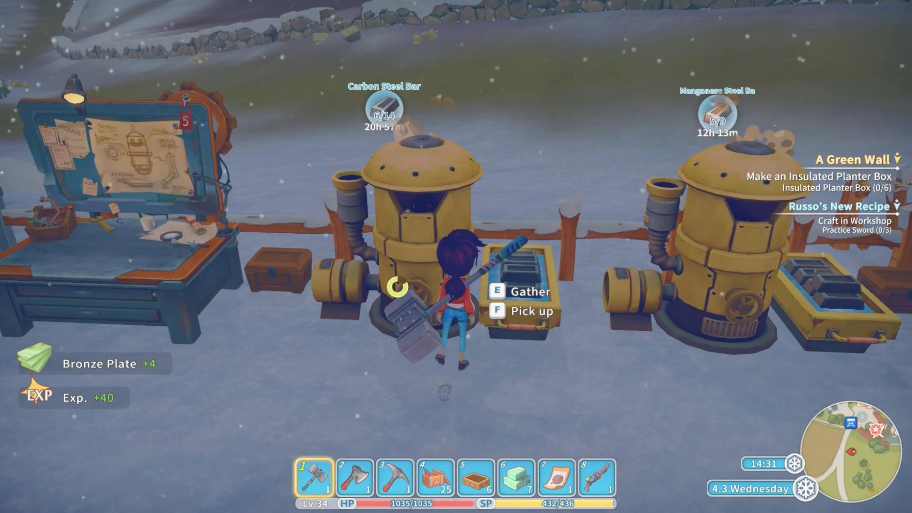My Time At Portia Review - Wiredfocus - Food Recipes My Time At Portia