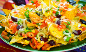 Nacho Recipes: 13 Delicious Chip Toppers, From Healthy To Loaded – Recipe Vegetarian Nachos Healthy