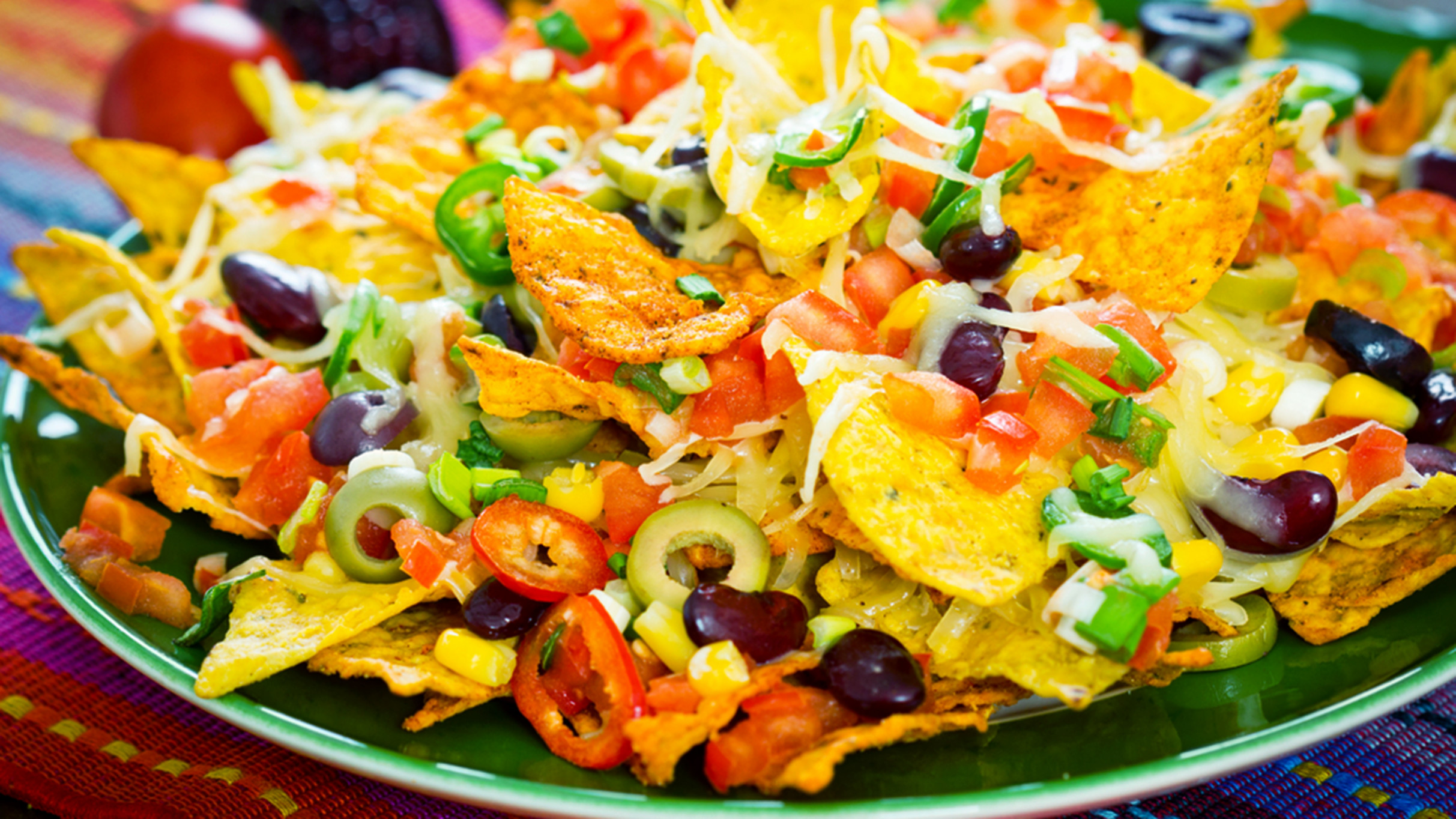 Nacho recipes: 13 delicious chip toppers, from healthy to loaded - recipe vegetarian nachos healthy