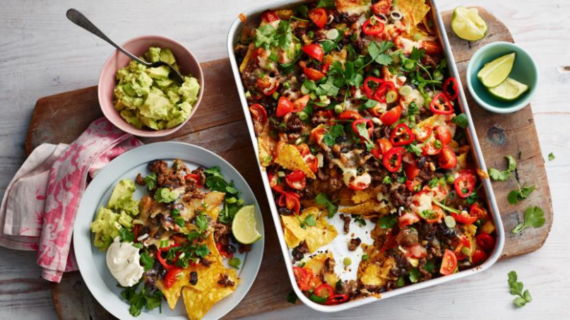 Nachos recipe - BBC Food - bbc food recipes