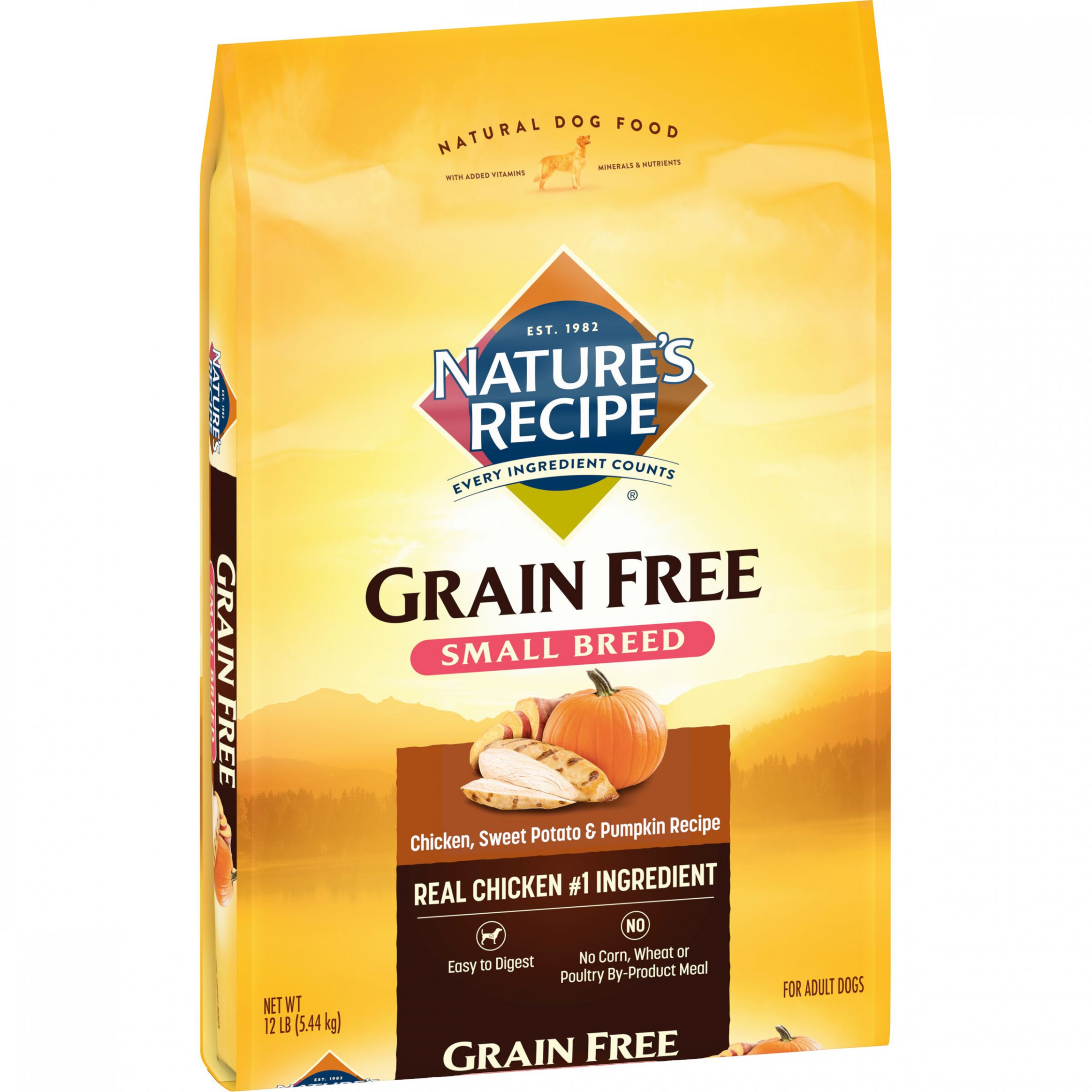 Nature's Recipe Small Breed Grain Free Easy To Digest ..