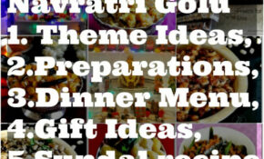 Navratri Golu Theme Ideas, Dinner Menu,Gift Ideas – Prema ..