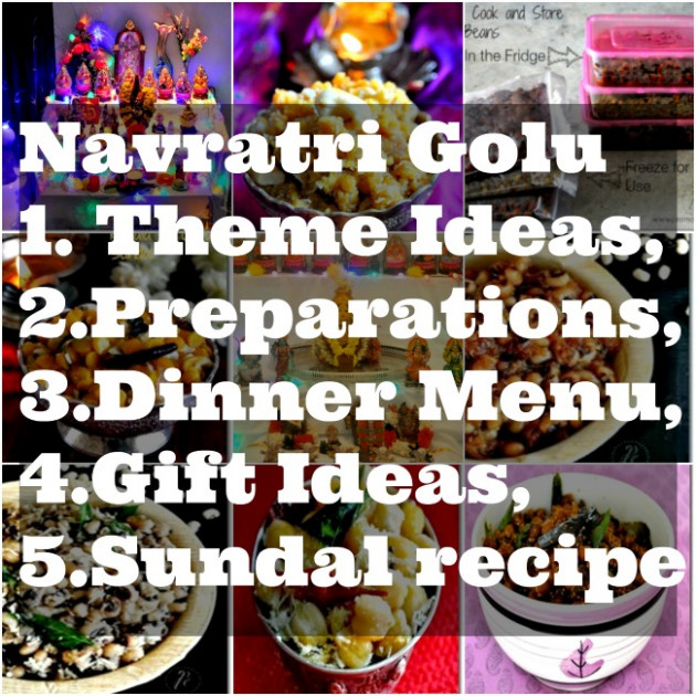 Navratri Golu Theme Ideas, Dinner Menu,Gift Ideas - Prema ..
