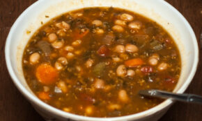 Navy Bean Soup – Plant Powered Living – Navy Bean Recipes Vegetarian