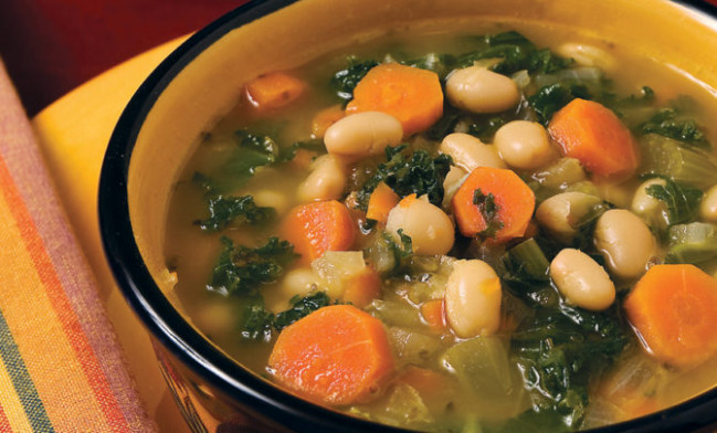 Navy Bean Soup Recipe - Relish - Navy Bean Recipes Vegetarian