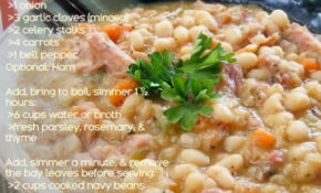 Navy Bean Soup (Vegetarian) | Soup | Pinterest – Recipe Vegetarian Navy Bean Soup