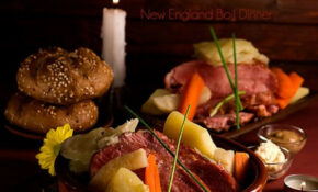 New England Boil Dinner Or Boiled Smoked Pork Shoulder ..