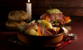 New England Boil Dinner Recipe Made With Smoked Pork | One ..