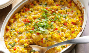 New Orleans Style Scalloped Corn Recipe | Taste Of Home – New Food Recipes