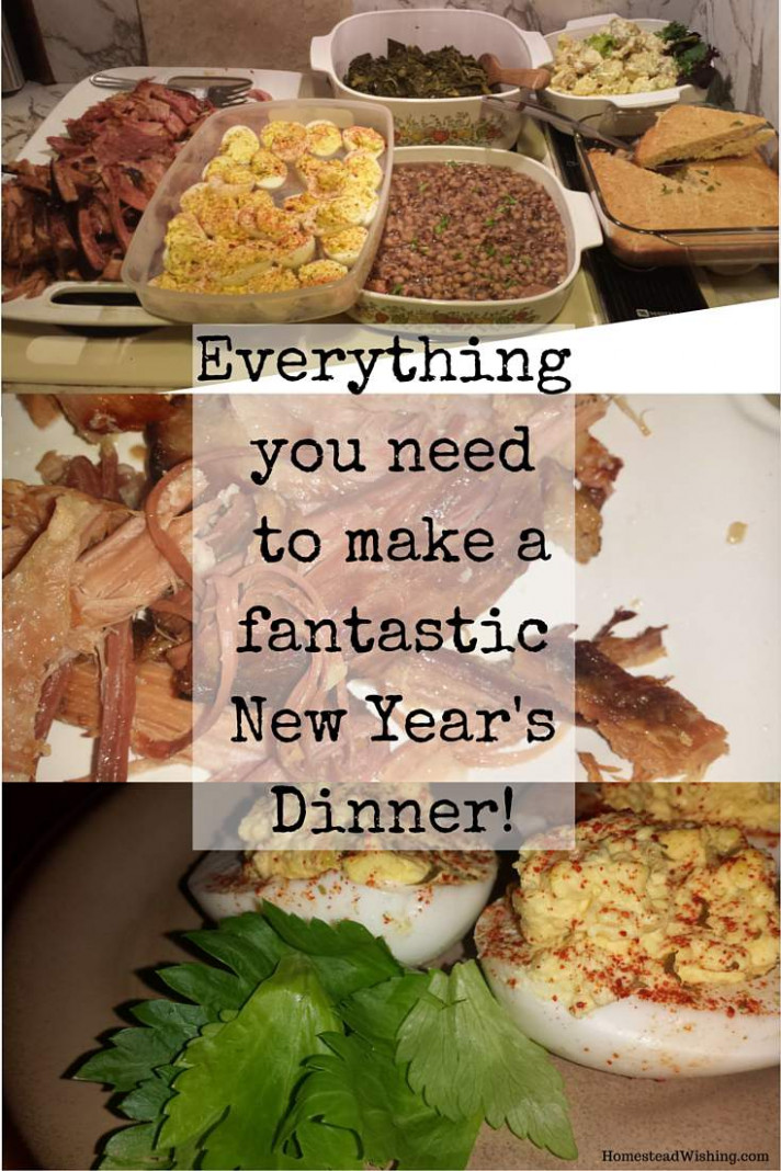 New Year's Dinner Recipes on The Homestead - new recipes dinner