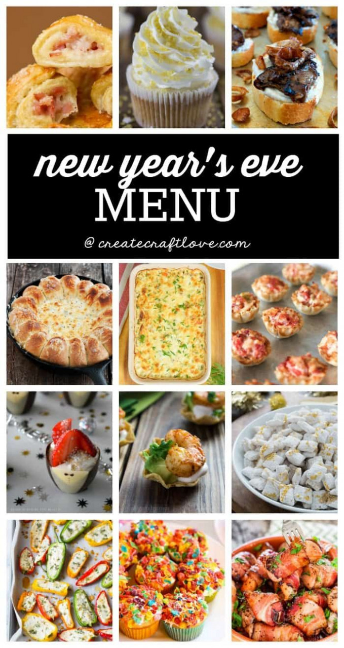 New Years Eve Menu | Recipes - Appetizers | New years eve ..