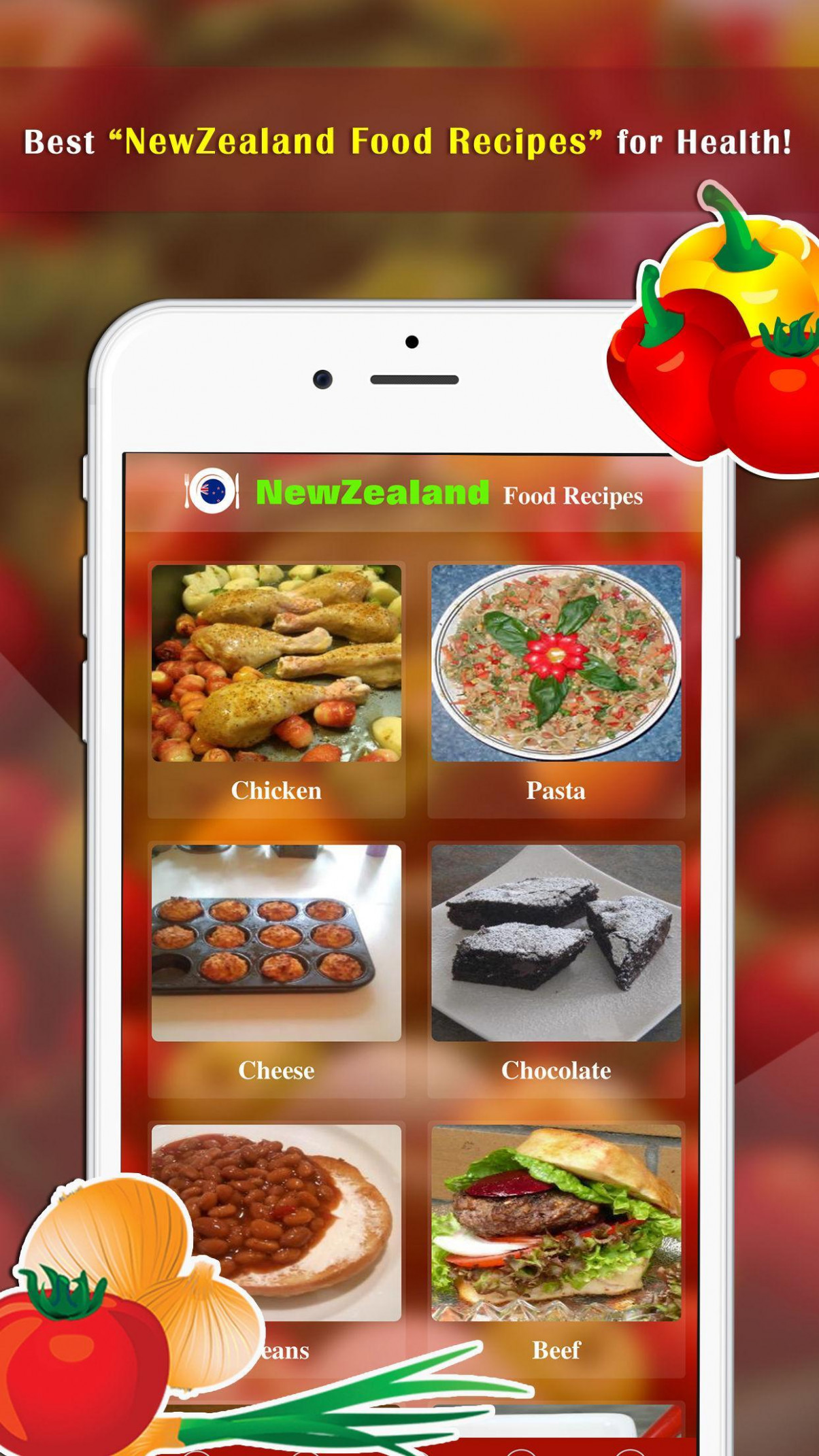 NewZealand Food Recipes for Android - APK Download - new zealand dinner recipes