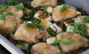 Nigella Lawson's Chicken And Pea Traybake – Nigella Lawson Recipes Chicken Thighs