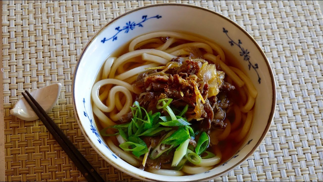 Niku Udon Recipe - Japanese Cooking 10 - recipe vegetarian udon noodle soup