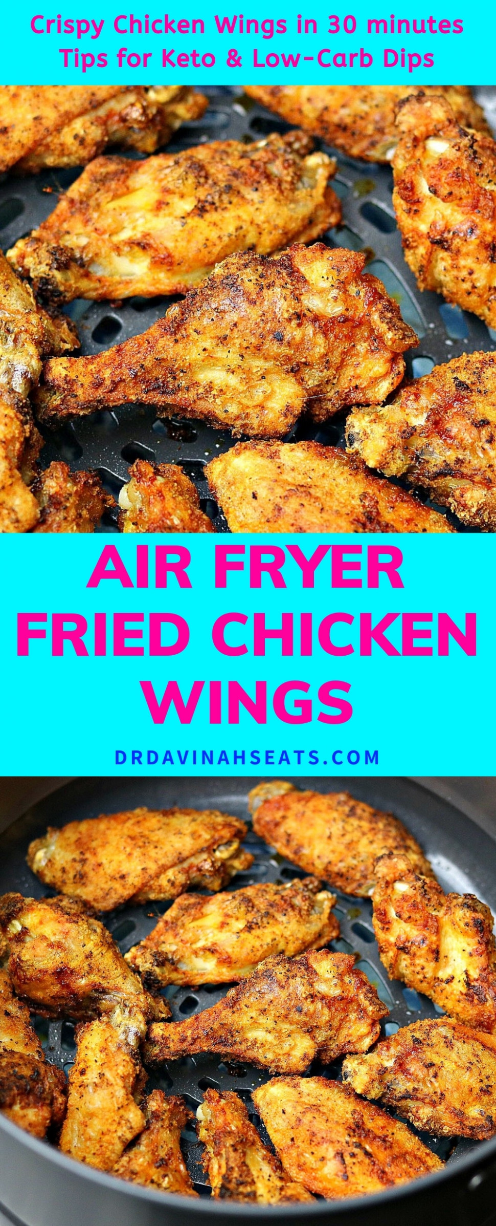 Ninja Air Fryer Fried Chicken Wings Recipe - pressure cooker xl recipes chicken wings