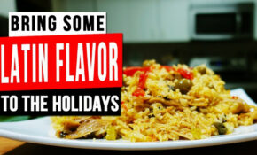 NINJA FOODI CHICKEN RICE RECIPE (ARROZ CON POLLO) | Salty ..