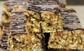 No Bake Breakfast Bars – Gluten Free, Vegan – Recipes Breakfast Bars Healthy