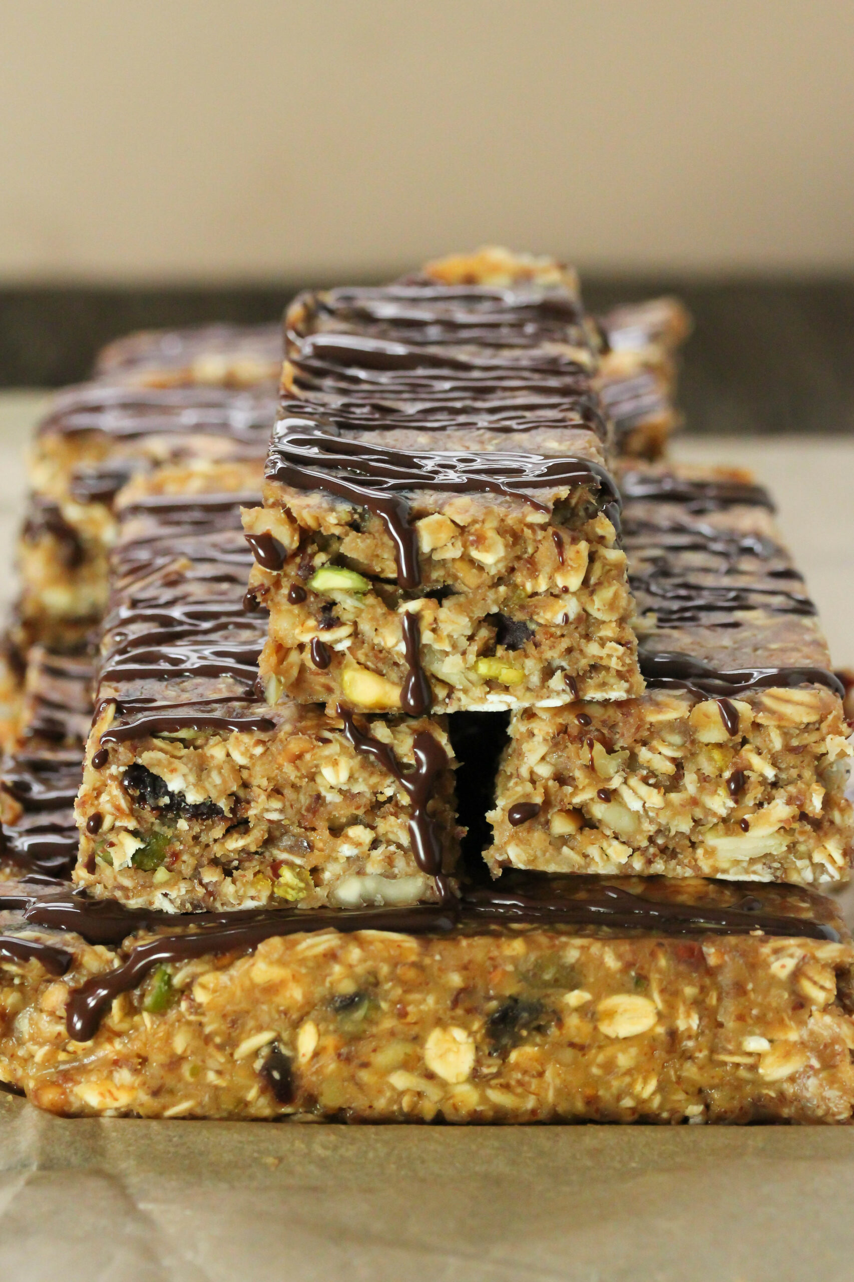 No bake breakfast bars - Gluten free, vegan - recipes breakfast bars healthy