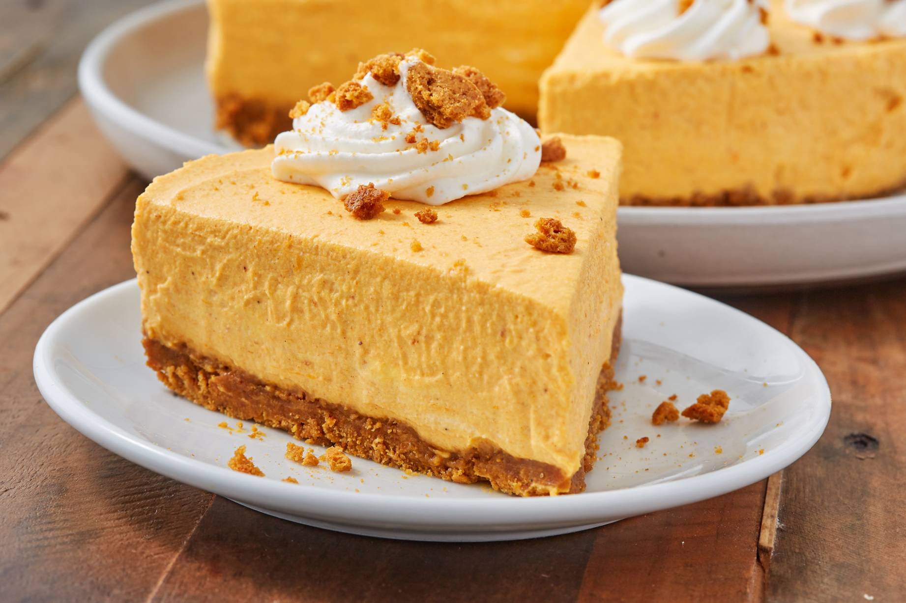 No-Bake Pumpkin Cheesecake - dinner recipes no oven