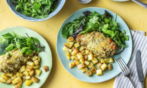 No Fuss Pesto Chicken With Potatoes And Green Salad – Recipes Pesto Chicken