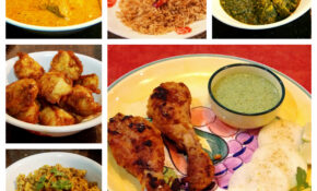 Non Vegetarian – Collage – Platter To Palate – Indian Curry ..
