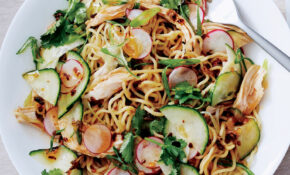 Noodle Salad With Chicken And Chile Scallion Oil – Healthy Recipes Epicurious