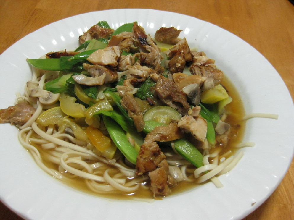 Noodle Soup for the Needy - udon noodle recipes chicken