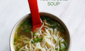 Noodle Soup Recipe | Veg Noodle Soup Recipe | How To Make ..