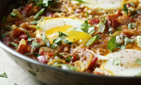 North African Eggs – African Food Recipes