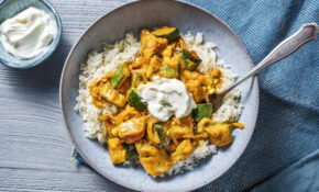 North Indian Style Chicken Curry With Fluffy Rice And Courgette – Chicken Curry Recipes
