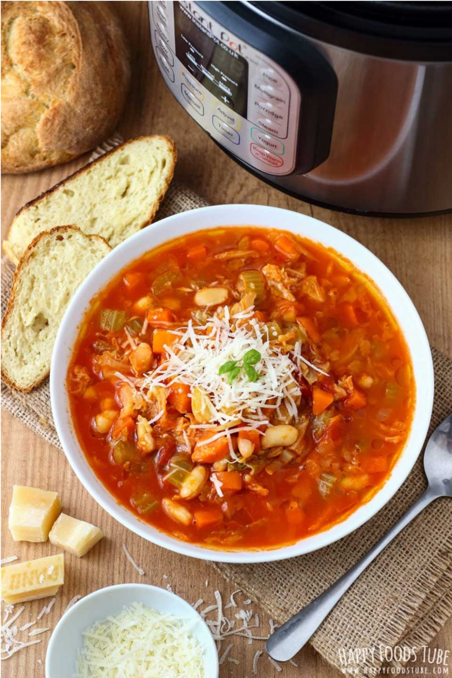 Nourishing Instant Pot Vegetable Soup Recipes - Two ..
