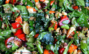 Now That's A (high Protein) Salad! – Recipes High Protein Vegetarian
