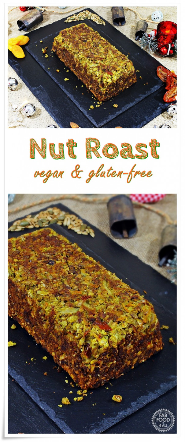 Nut Roast (vegan & gluten-free) perfect for Christmas - Fab ..
