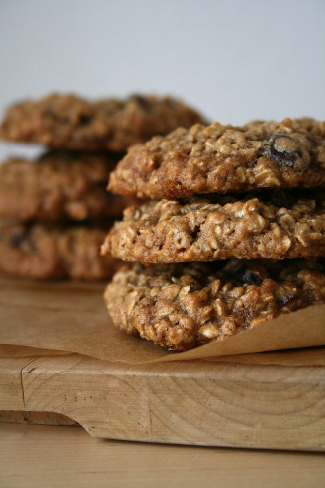 oatmeal cranberry cookies..