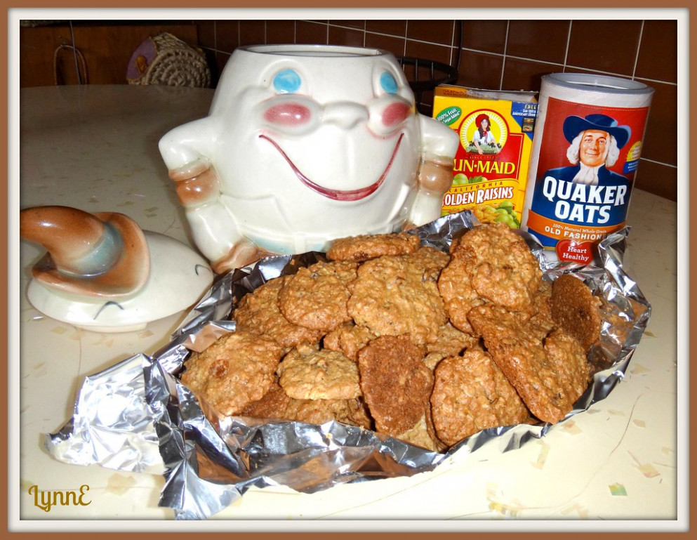 Oatmeal Raisin Cookies - food recipes cookies