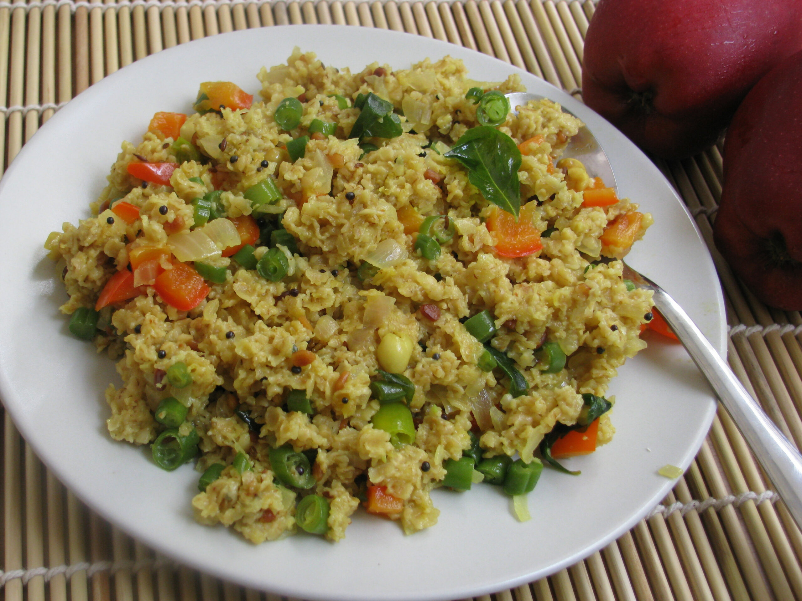 Oats Upma | Healthy Veg Recipes - healthy recipes oats