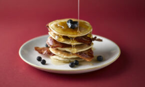 Oaty Pancakes With Bacon And Maple Syrup – Recipes Pancakes Healthy