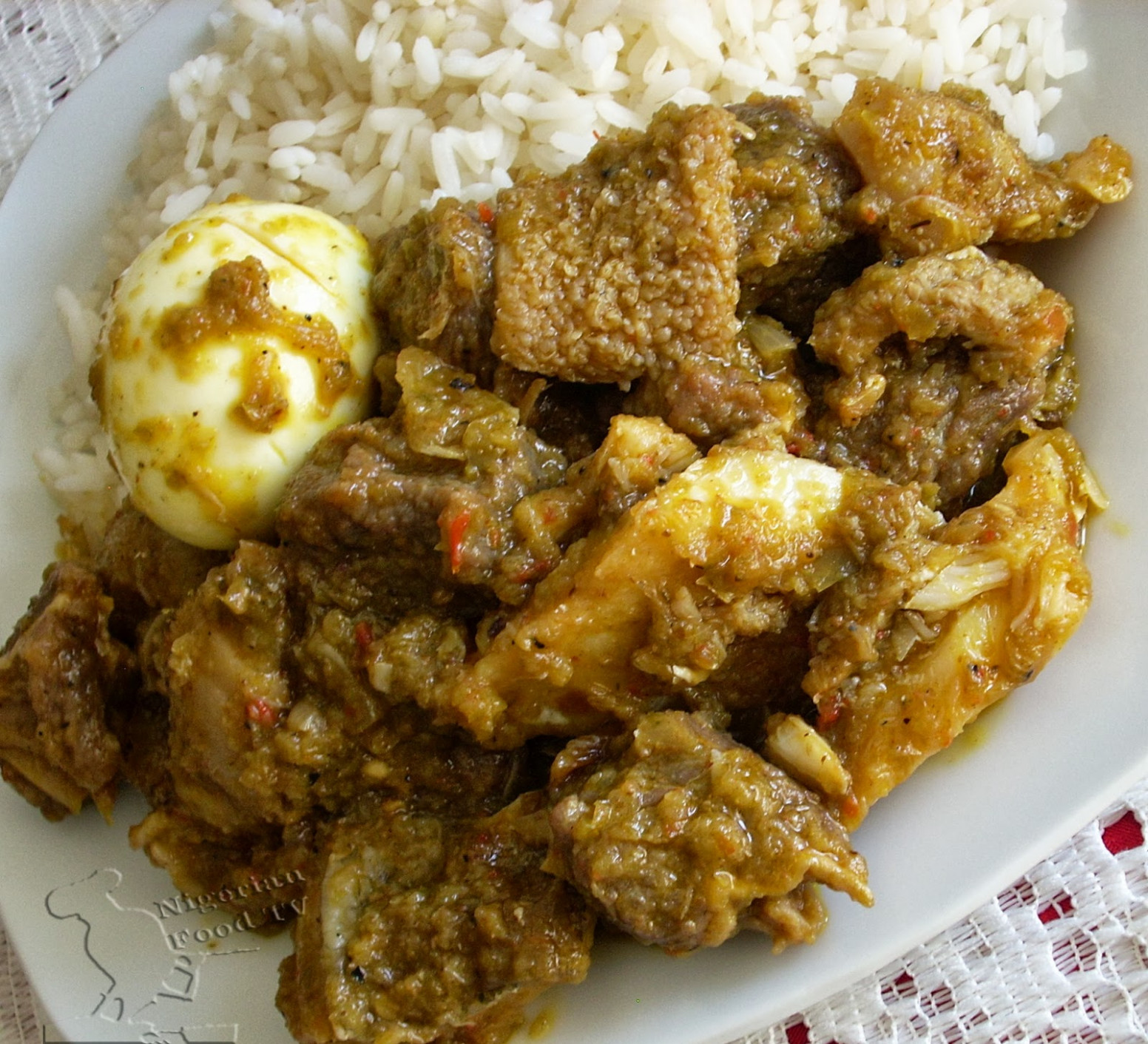 Ofada Stew (Ayamase) - The Designer stew - nigeria food recipes
