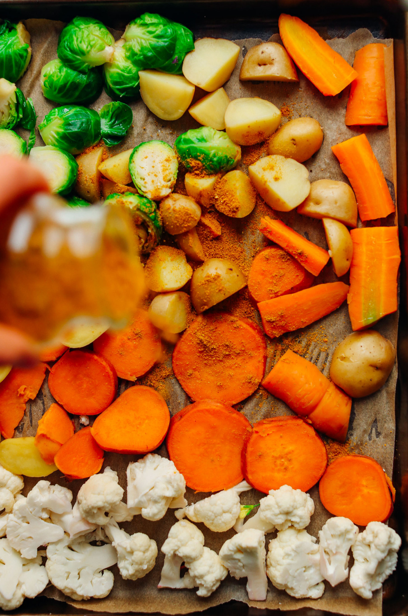 Oil-Free Roasted Vegetables - healthy recipes roasted vegetables