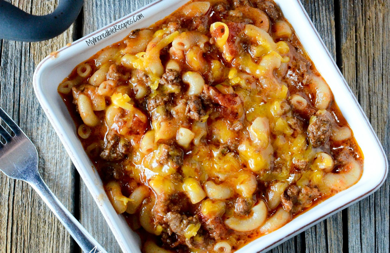 Old Fashioned Goulash! - old fashioned food recipes